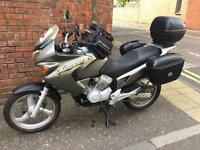 HONDA VARADERO 125cc with Panniers and Many Extras