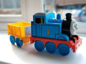 Thomas and trailer