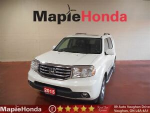 2015 Honda Pilot Touring|Navigation, Leather, Sunroof, DVD Playe