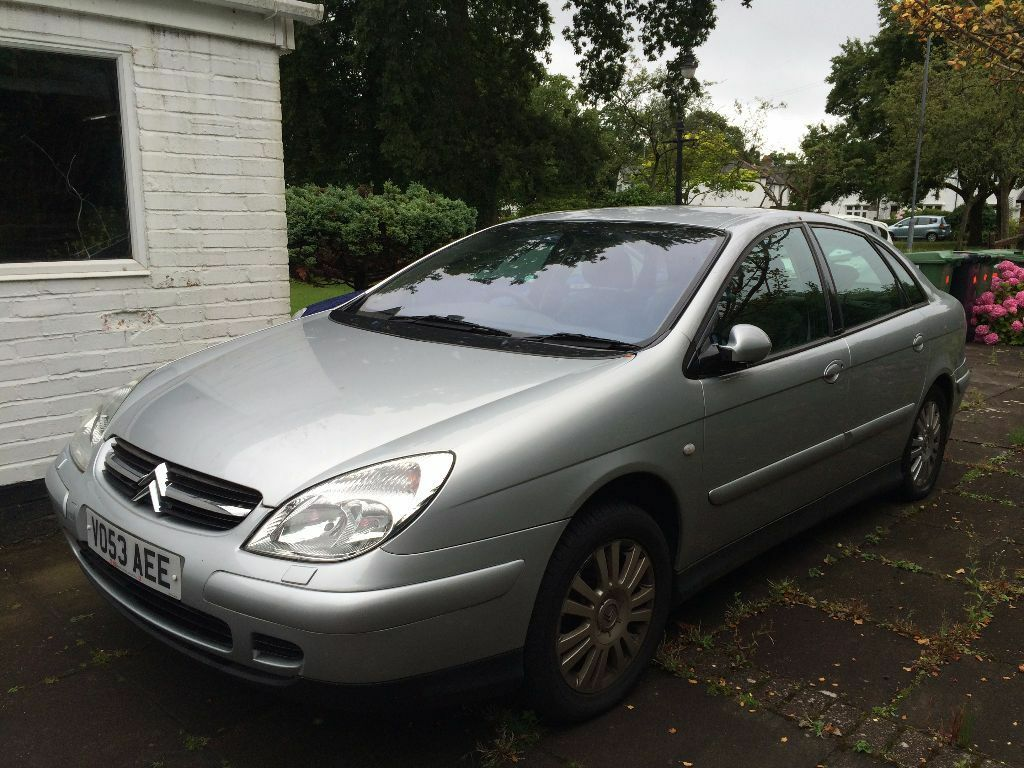 citroen c5 diesel hatchback 2 2 hdi exclusive 5dr reg 2003 low mileage silver in rhiwbina. Black Bedroom Furniture Sets. Home Design Ideas