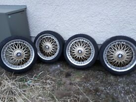 4 x alloys and tyres 225/40ZR18