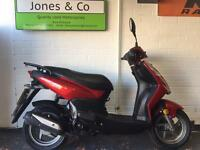 Sym Symply 50cc scooter Moped (2014) Red 3273 miles Delivery available,