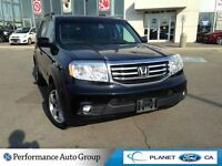 2012 Honda Pilot EX-L  4 WHEEL DRIVE LEATHER CLEAN CARPROOF 1 OW
