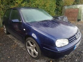 VW Golf GTI 2002 - Alloys spare or repair minor mot failures .