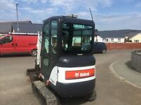 Bobcat e16 mini digger 2013 job hitachi tractor
