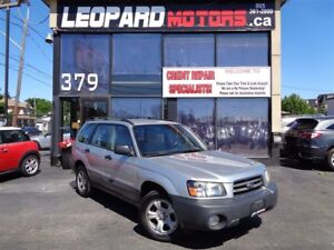 2004 Subaru Forester X,Awd,Power Window,Automatic*No Accident*As