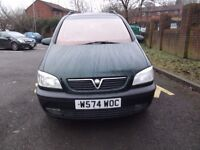 Vauxhall Zafira, 2.0 dti, 5 door hatchback, *7 serater* *3 keys*