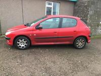 Peugeot 206 or swap 7 seater