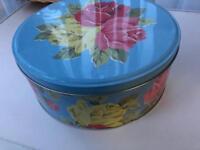 Vintage Cath kidston large tin