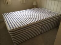 Good condition Double Bed Base and Double Mattress