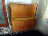 Nathan Teak Drinks Cabinet-very good condition
