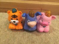 3 VTECH TOOT TOOT ANIMALS