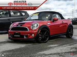 2012 MINI COOPER S Convertible ONLY 32391 KMS!!