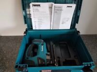 NO OFFERS..MAKITA DJV180 18V Cordless Li-Ion JIGSAW body & Makpac case only, near new.