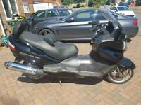 Suzuki Burgman 650 executive spares or repairs