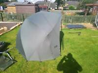 Fox supa brolly and winter over wrap