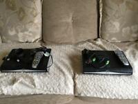 Sky boxes with remotes