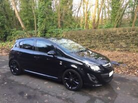 Beautiful 13 Plate Vauxhall Corsa 1.3 CDTI Limited Edition Rare 5dr,£20 Tax,Stealth Look,FSH