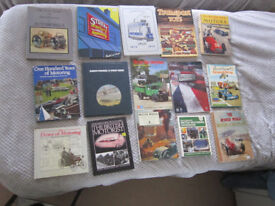 MOTORING COLLECTION OF OLD BOOKS