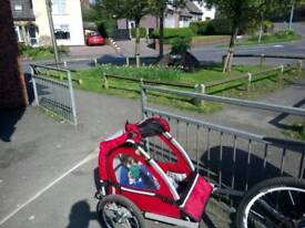 Child's cycle trailer