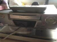 Sanyo video vhs player recorder