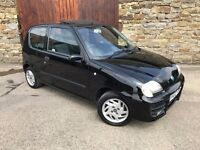 VERY LOW MILEGE FIAT SEICENTO SPORTING 1.1,1 LADY OWNER,LONG MOT,CHEAP PERFECT 1ST CAR,LOW INSURANCE