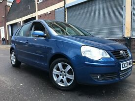 Volkswagen Polo 2008 1.4 Match 5 door 1 OWNER, FULL SERVICE HISTORY, LOW MILEAGE, BARGAIN