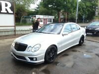 Mercedes E55 AMG Supercharged, 2004 (54) FSH, Eisenmann, LPG, Panoramic Roof, PX
