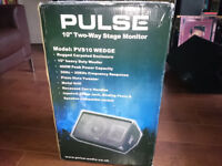 """Pulse 10"""" Two-Way Stage Monitor."""