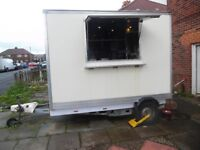 Catering Trailer 10x7ft Lpg Griddle Bain Marie Water Boiler Kabab Machine 12 Gas Electric Certs