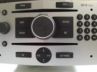 Vauxhall Astra/Vectra/Zafira (B) Radio & CD & Sat Nav - model CD 70 NAVI