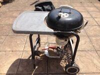 Weber barbecue set