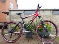 "Scott Genius 20 Mountain Enduro Bike 19"" Large Carbon Frame Full Suspension XC Trail Full Lockout"