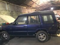 Land Rover Discovery Project