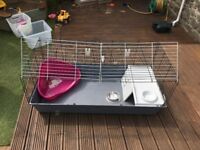 Indoor Rabbit guinepig Cage Hutch