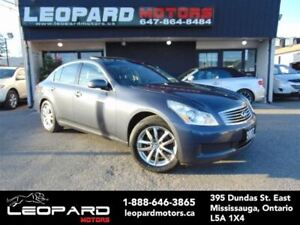 2007 Infiniti G35X Navigation,Camera,Leather,Roof*Certified*