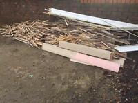 FREE firewood kindling wood woodburner fire stove