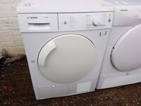 7KG BOSCH condenser dryer, excellent condition, 3 months warranty