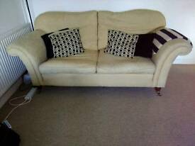 2 x 3 seater Chatsworth Sofas by Welbeck House Limited - £55 each or £100 For both.