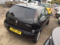 2005 Vauxhall Corsa 1.2cc Twinport--11 months mot,ac,alloys,excellent runner,clean,sxi twinport,vgc