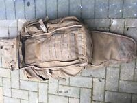 Army desert Day sack with attachments