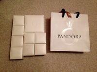 Pandora boxes. Dereham £10