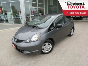 2014 Honda Fit DX-A ONE OWNER / LOCAL TRADE IN