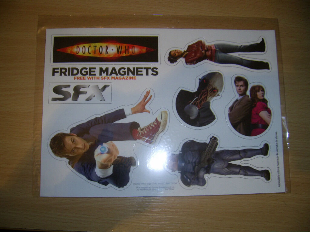 Doctor Who Series 4 Fridge Magnets £1 Each
