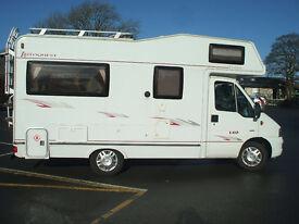 2006 Elddis Autoquest 140 Diesel