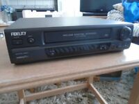 FIDELITY NICAM VHS VIDEO RECORDER - BOXED AS NEW - NEVER BEEN USED