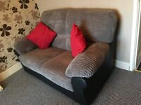 Two 2 seater sofas - nearly new, hardly used
