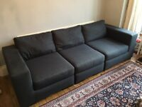Second-hand (3 years old) Made 'Mortimer' 4-seater modular sofa