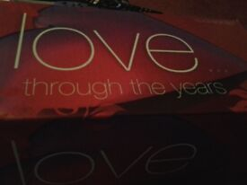 Love Through The Years CD Collection boxset for sale.