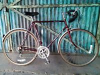 """Gents \ Men's large road bike in amazing condition 24"""" racer touring nt hybrid"""